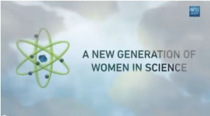 Click image to watch a video about girls in STEM.